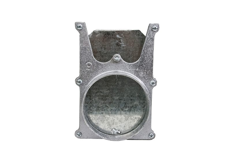 Cast Aluminum Blast Gates With Sheet Metal Door Kencraft